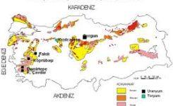 Dünyada ve Türkiye'de Uranyum ve Toryum