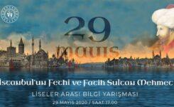 """Milli Eğitim Bakanlığından Bilgi Yarışması: """"İstanbul'un Fethi ve Fatih Sultan Mehmet"""""""