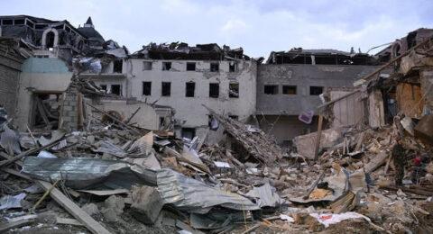 Ermenistan Gence'ye Füze Attı